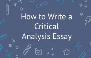 How To Make A Great Critical Analysis Essay About A Movie